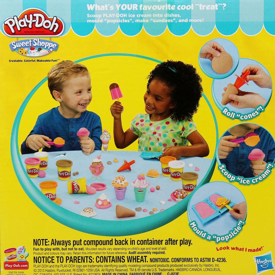 Bộ Đất Nặn Mỹ Play-Doh PD9801- Bộ Sưu Tập Kem Sắc Màu
