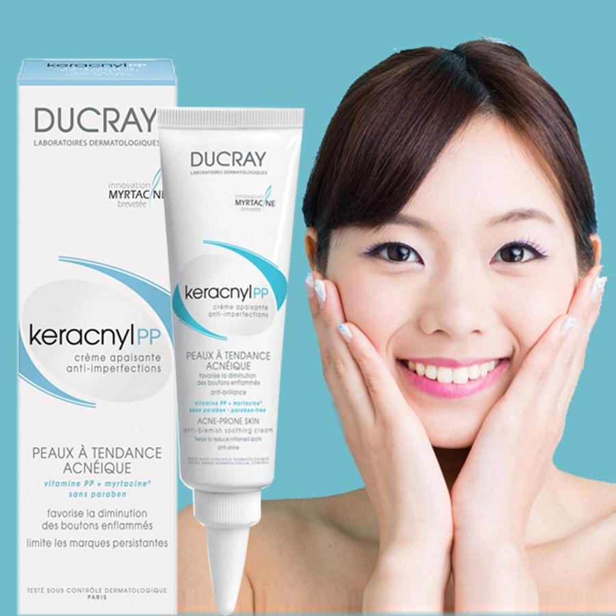 Kem Trị Mụn Ducray Keracnyl Complete Regulating Care