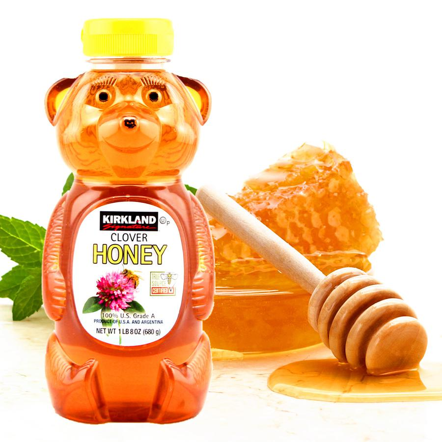 Mật Ong Kirkland Organic Honey Bears Nhập Mỹ (680gr)