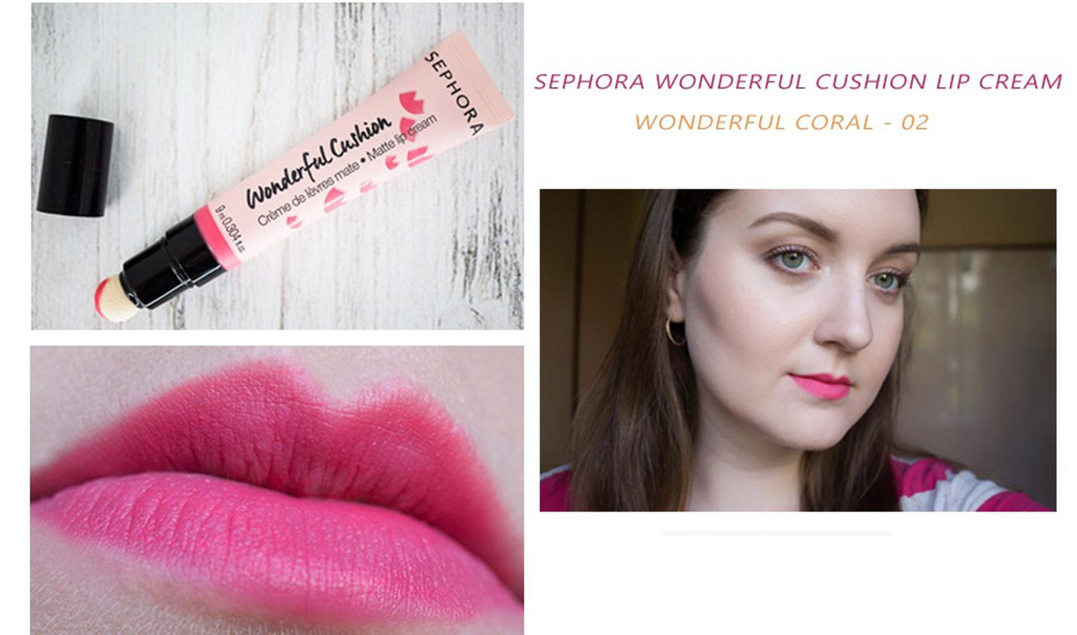 Son Kem Lì Sephora Wonderful Cushion Matte Lip Cream