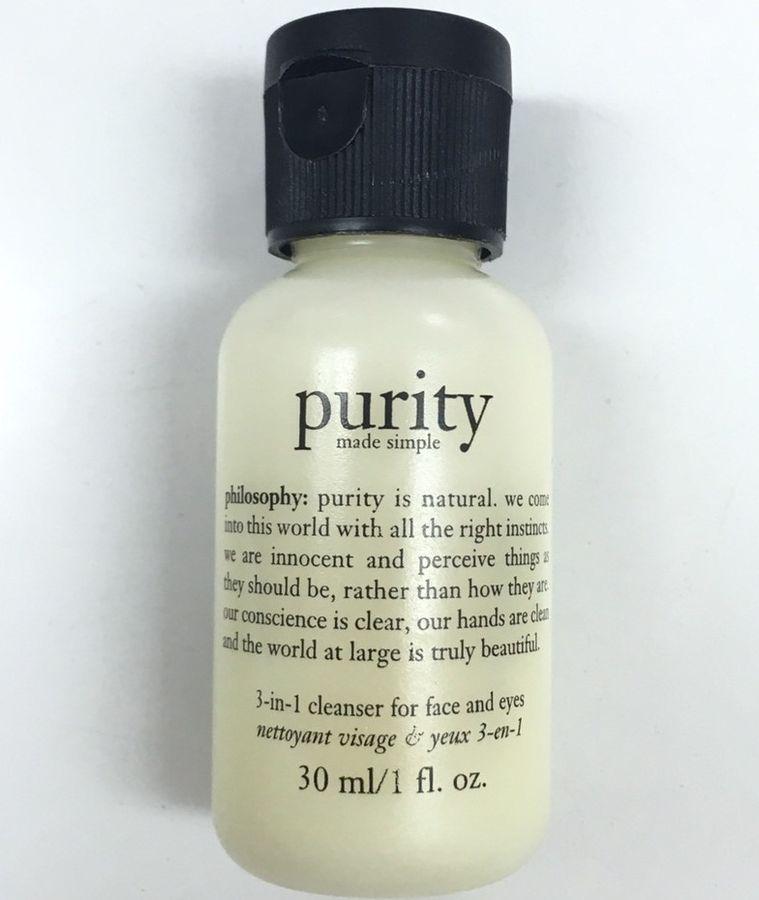 Sữa Rửa Mặt Purity 3 Trong 1 Tẩy Trang Mắt, Môi, Mặt