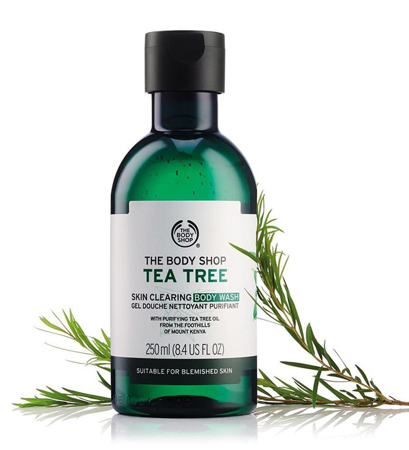 Sữa Tắm Tee Tree The Body Shop 250ml Trị Mụn