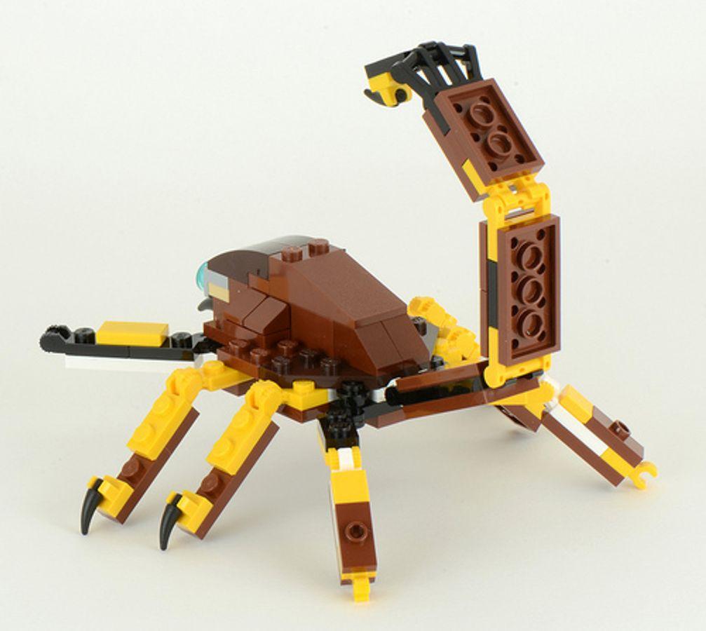 Đồ Chơi Xếp Hình Lego Creator 31004 - Động Vật Hoang Dã