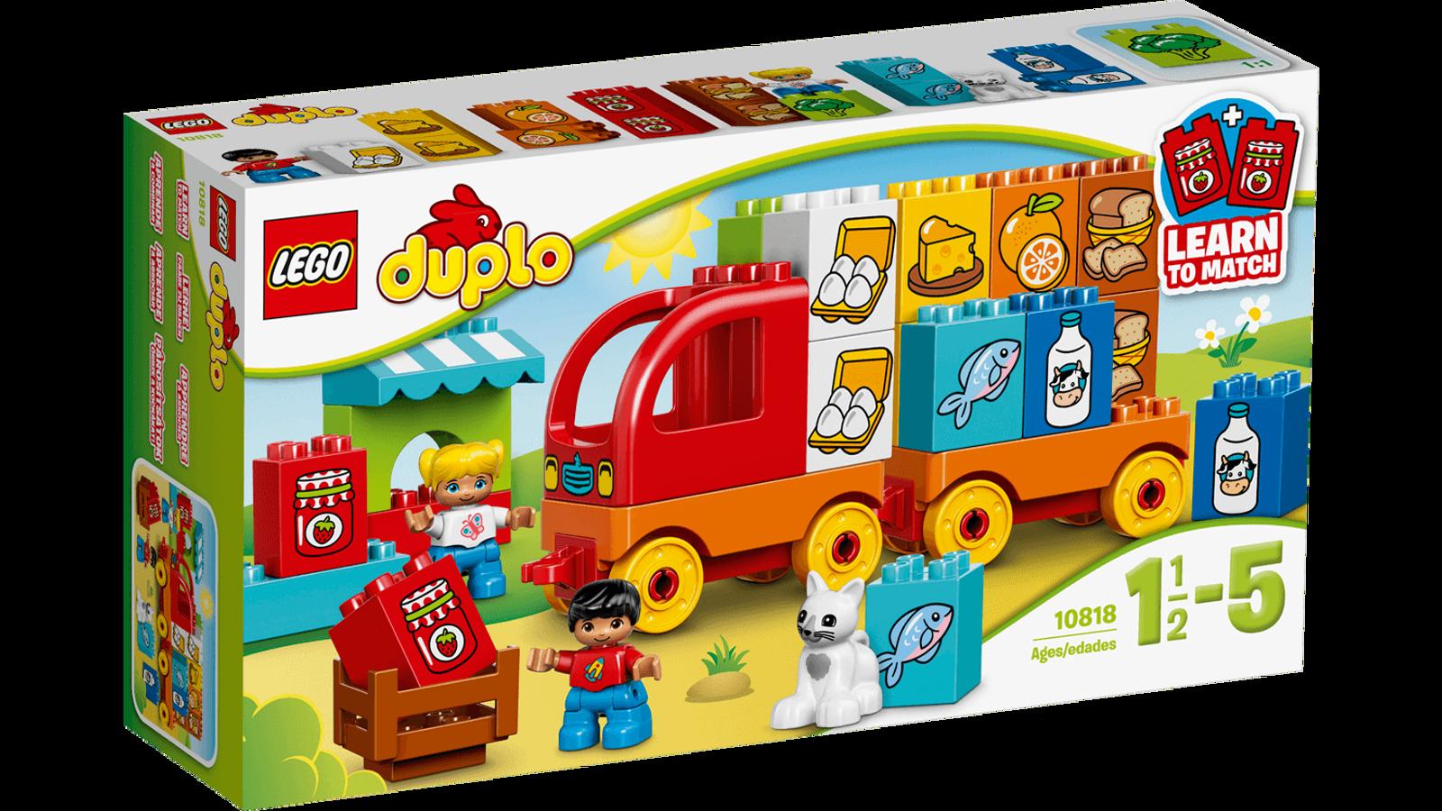 Đồ Chơi Xếp Hình Lego Duplo 10818 - Xe Tải Đầu Tiên Của Bé