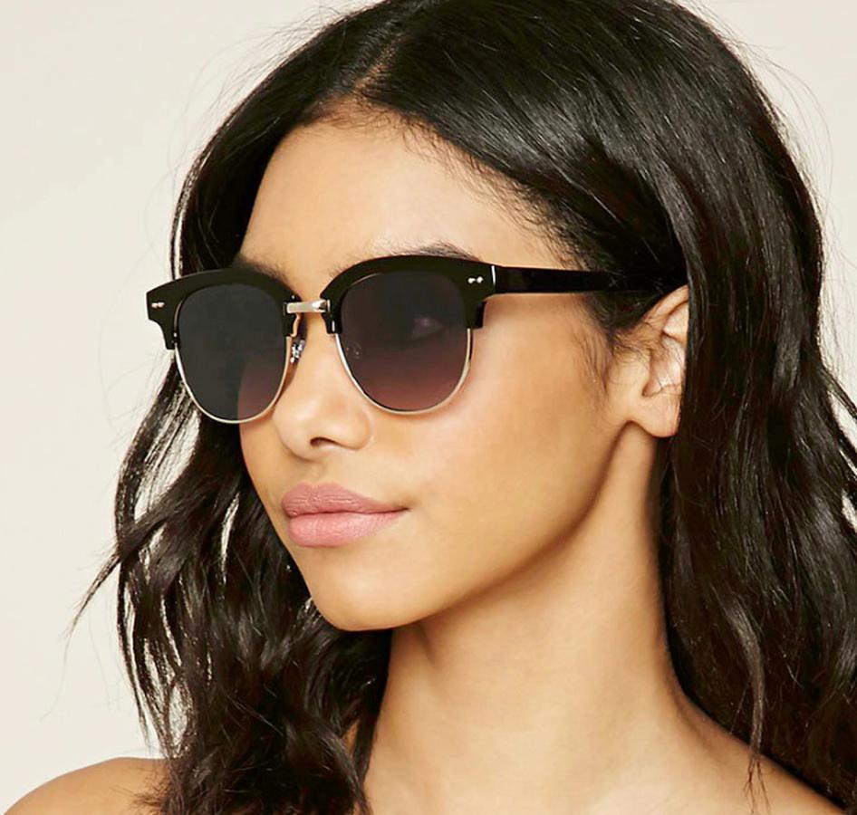 Kính Mắt F21 Browline Square Sunglasses 1000195380