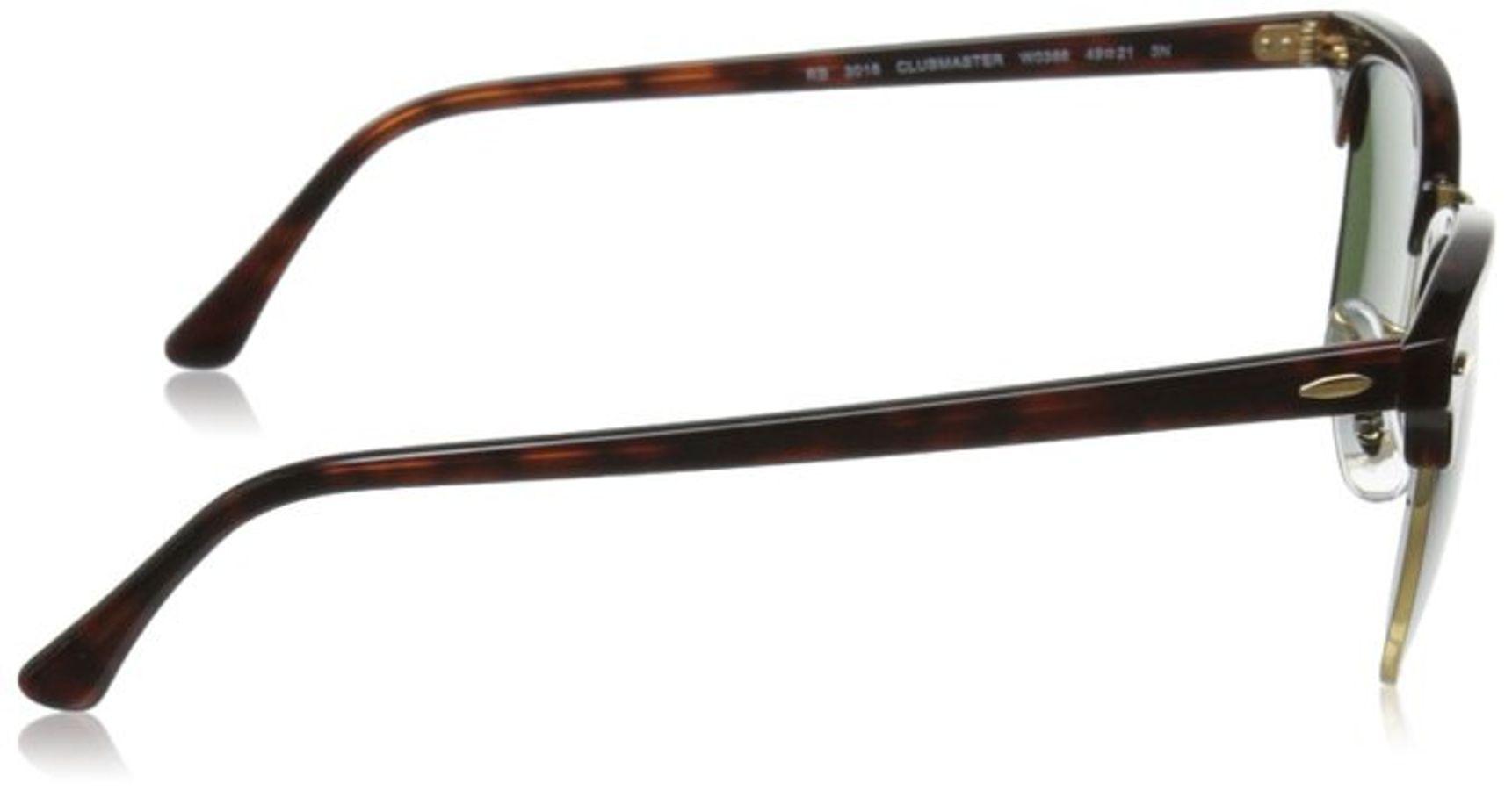 Mắt Kính RayBan RB3016 W0366 Classic Clubmaster