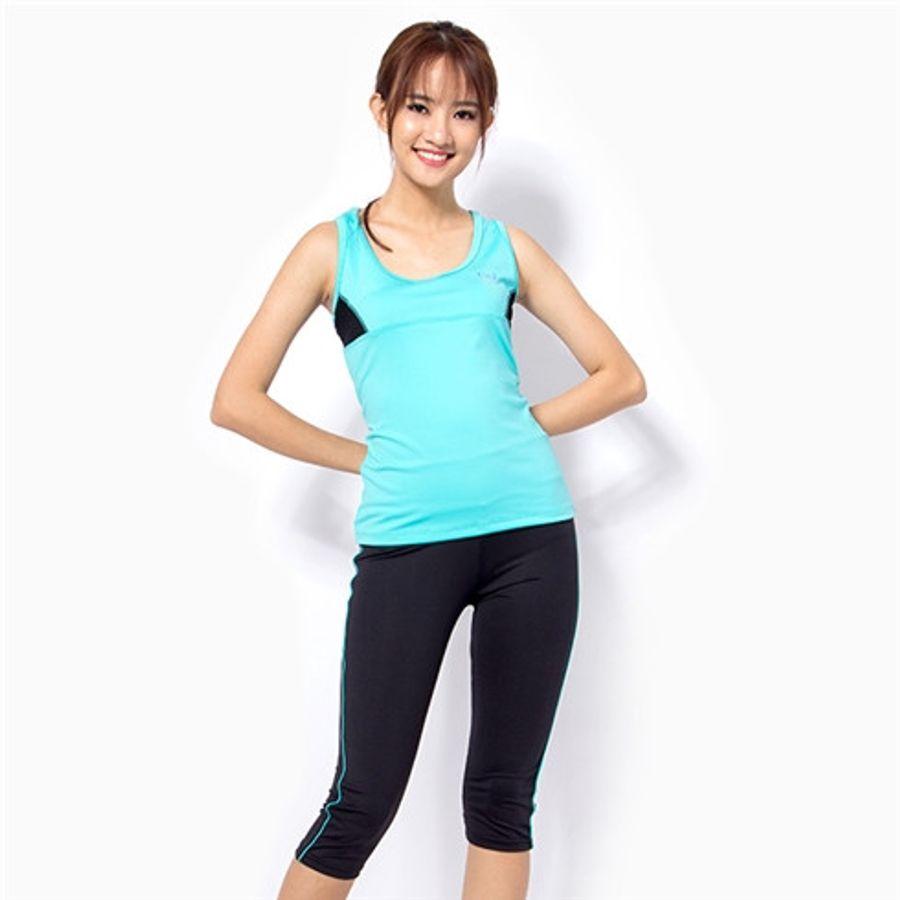 Bộ Đồ Tập Gym, Aerobic, Fitness, Zumba, Yoga Nữ Dáng Lửng