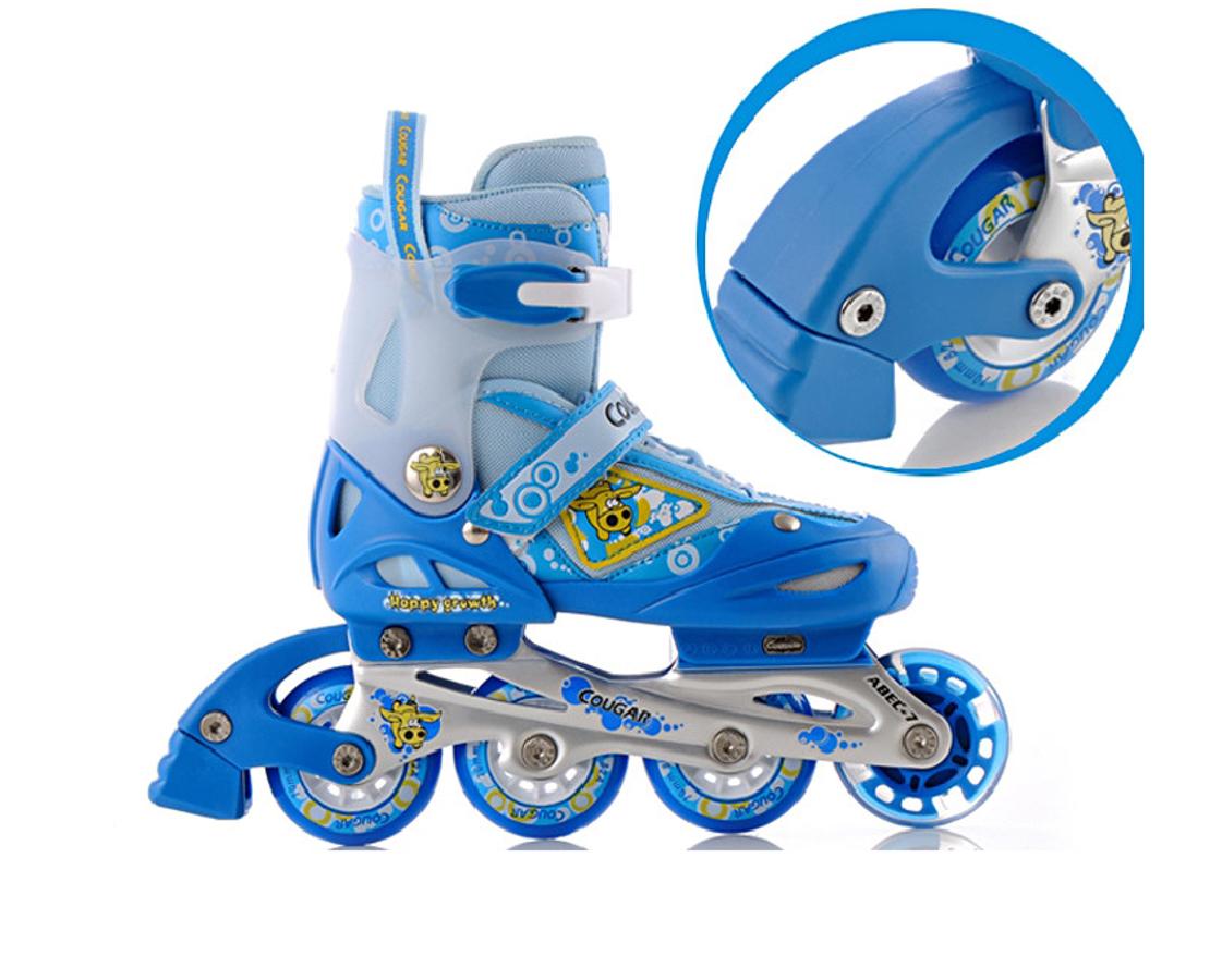 Bộ Giày Trượt Patin, Mũ Bảo Vệ Cougar MZS828