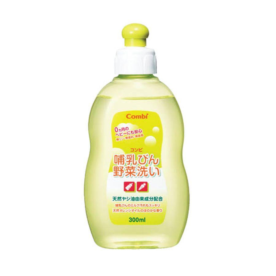Nước Rửa Bình Sữa Và Rau Củ Combi 300 ML