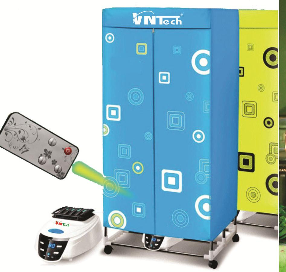 Tủ Sấy Quần Áo VnTech VN26UV Có Đèn UV