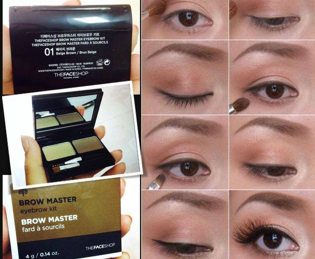 Bột Tán Mày The Face Shop Brow Master Eyebrow Kit