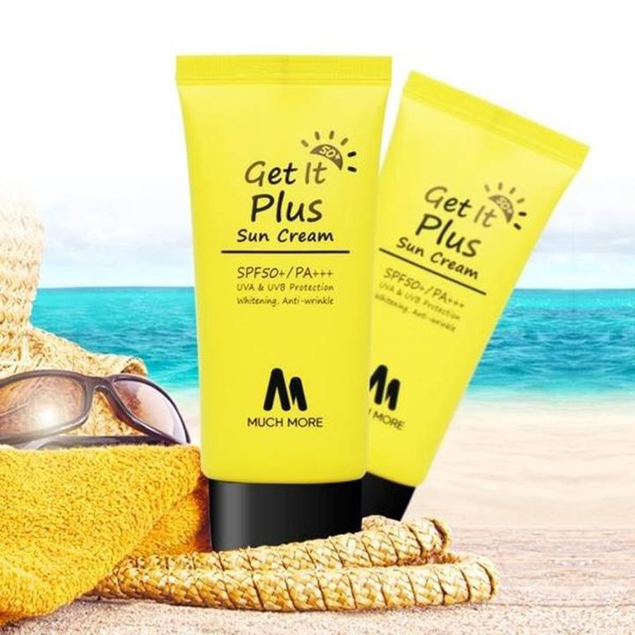 Kem Chống Nắng Much More Get It Plus SPF50+ PA+++ 50g