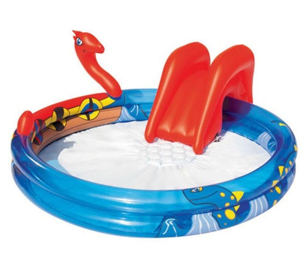 Bể Bơi Phao Có Cầu Trượt Cho Bé Bestway 53033