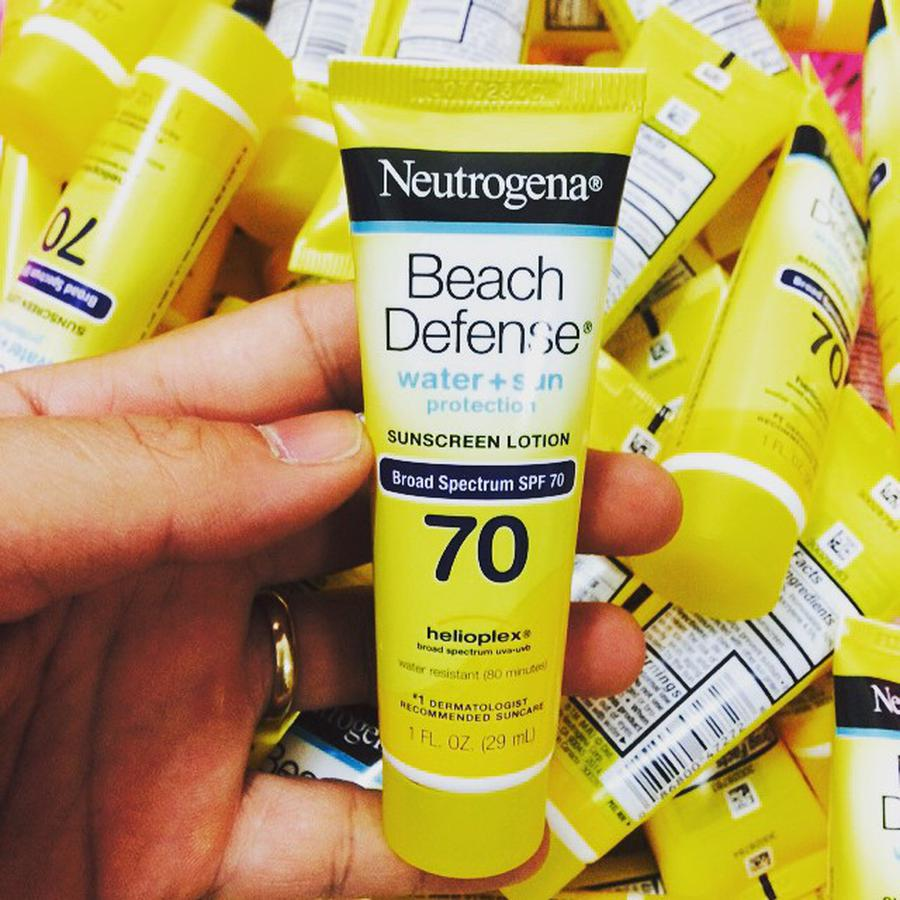 Kem Chống Nắng Neutrogena Mini Beach Defense SPF70 29ml