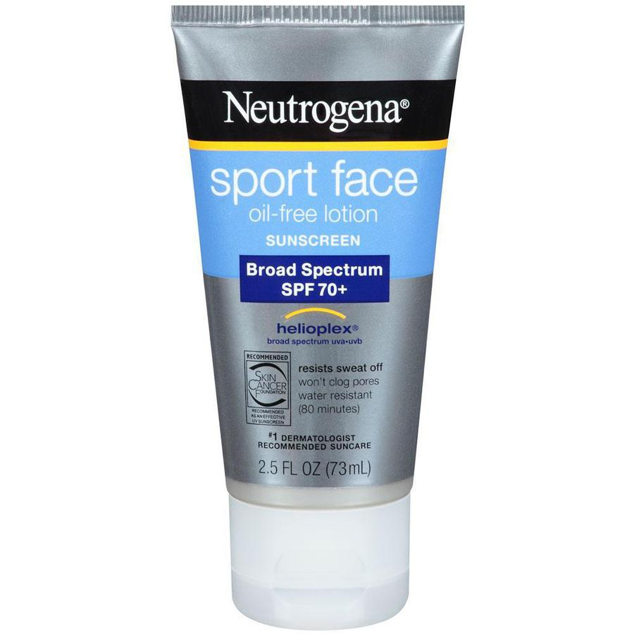 Kem Chống Nắng Neutrogena Sport Face Oil SPF70+ Cho Mặt