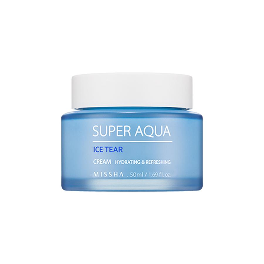 Kem Dưỡng Ẩm Missha Super Aqua Ice Tear Làm Mịn Da