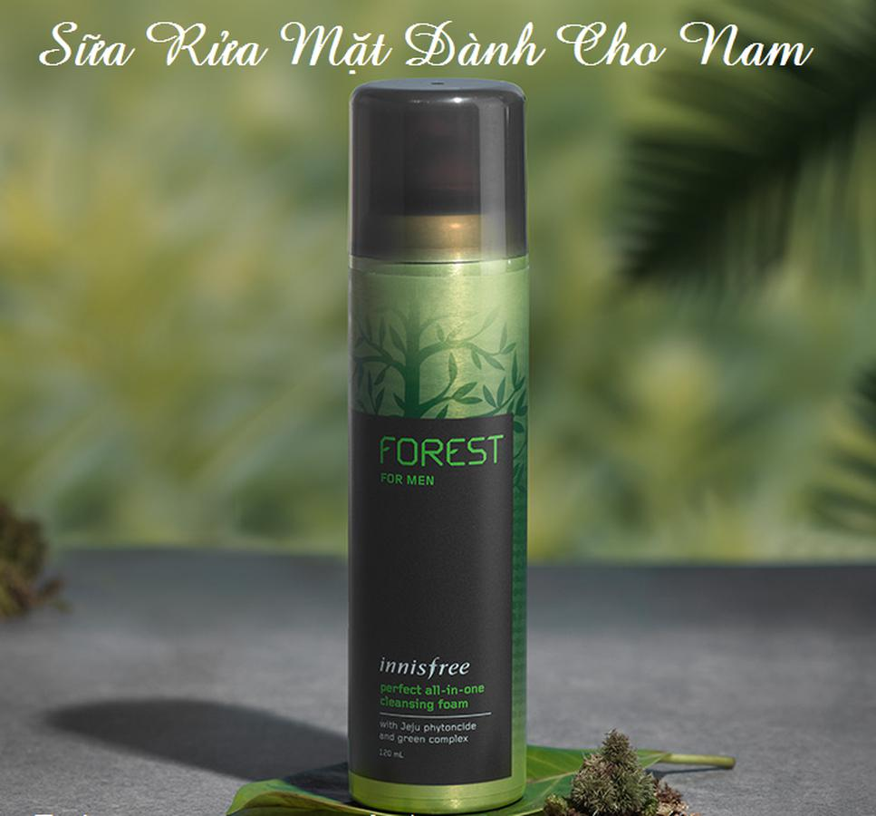 Sữa Rửa Mặt Cho Nam Innisfree Forest Perfect All In One