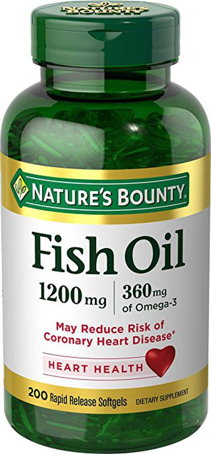 Dầu Cá Nature's Bounty Fish Oil 1200mg Omega 3