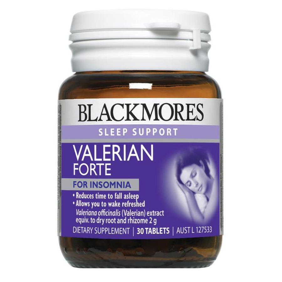 Hỗ Trợ Giấc Ngủ Blackmores Valerian Forte 2000mg