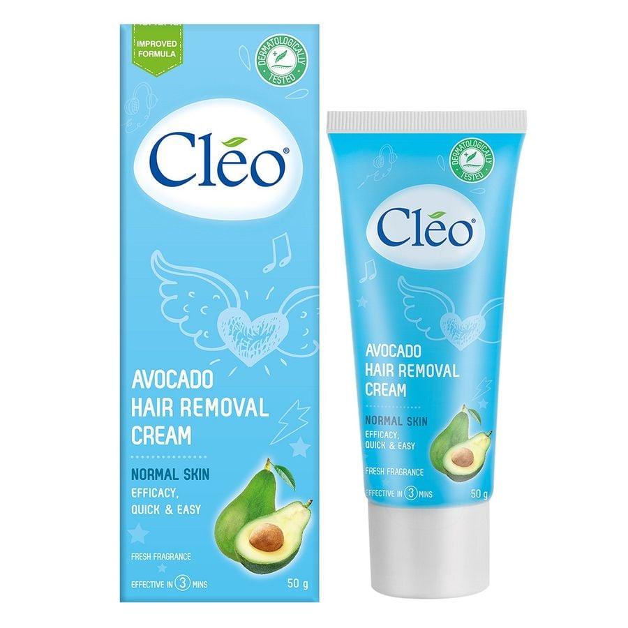 kem tẩy lông Cleo bơ