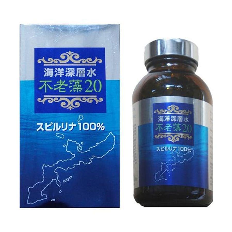 Tảo Xoắn Spirulina Nhật Bản Thế Hệ Mới Hộp 1000 Viên