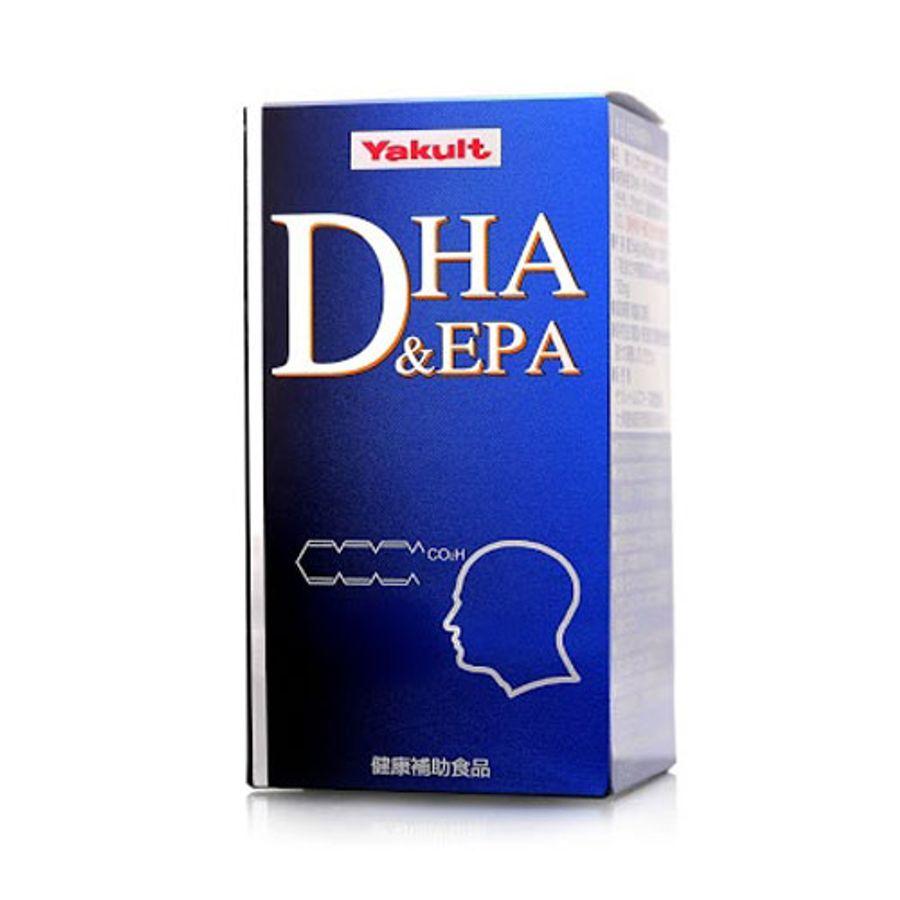 Viên Bổ Não DHA & EPA Yakult 120 Viên Nhật Bản