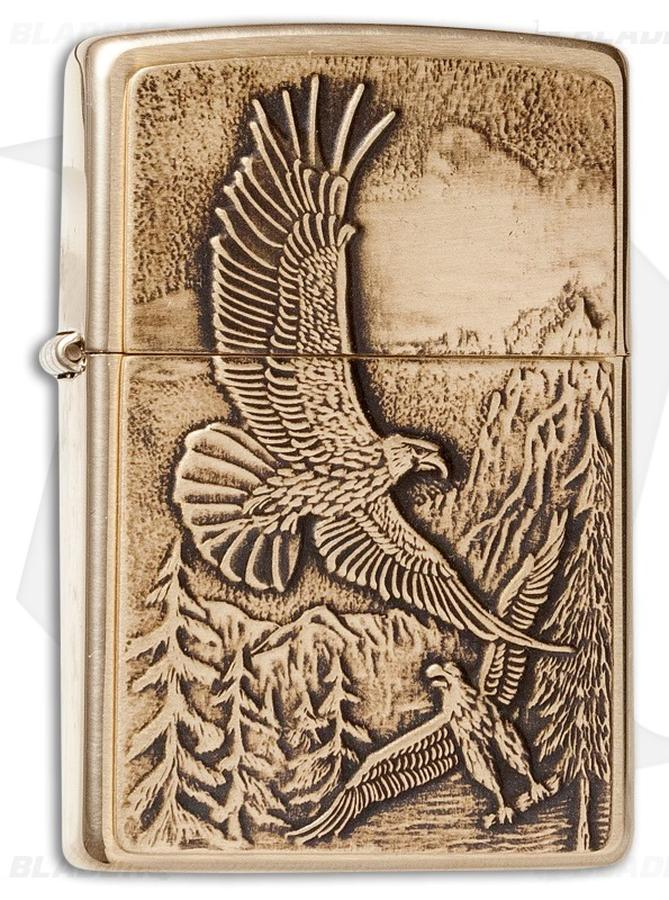 Bật Lửa Zippo 20854 Lighter Where Eagles Dare Emblem