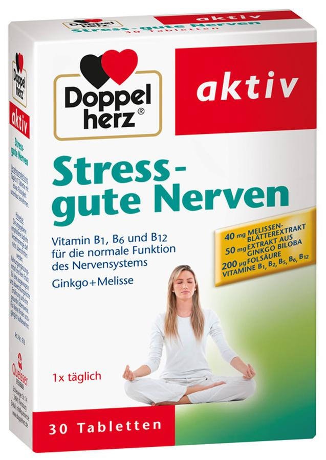 Viên Giảm Căng Thẳng Doppelherz Stress Gute Nerven