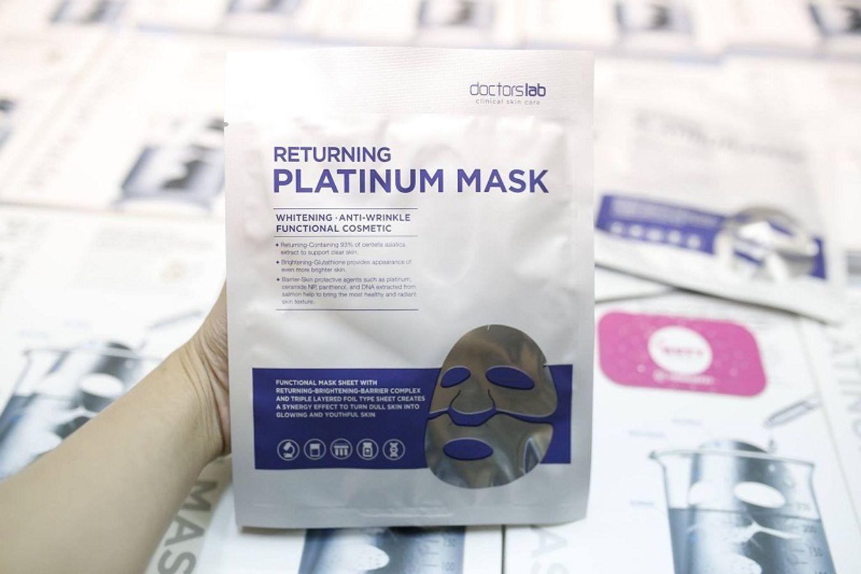 Mặt Nạ Trắng Da Doctorslab Returning Platinum Mask