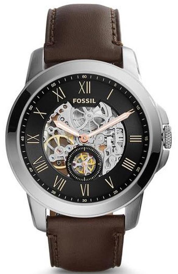 Đồng Hồ Fossil Automatic ME3095 Dây Da