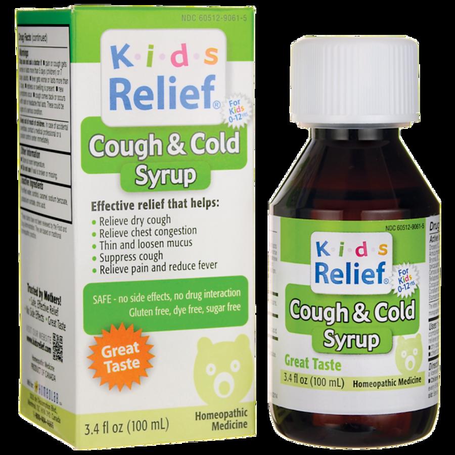 Siro Kids Relief Cough & Cold Chính Hãng Của Mỹ