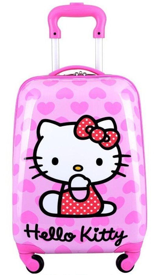 Vali Kéo Trẻ Em Hello Kitty Hình Chữ Nhật