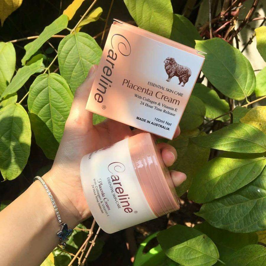 Kem Nhau Thai Cừu Careline Placenta Cream Úc