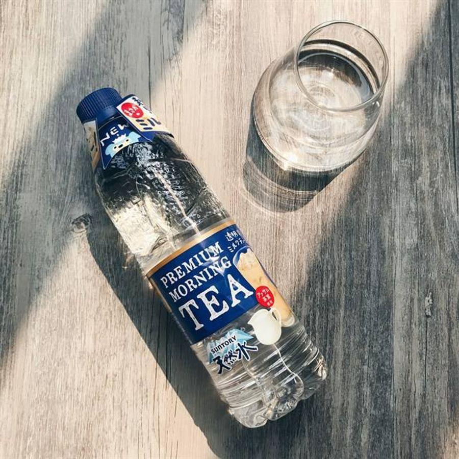 Nước Khoáng Vị Trà Sữa Nhật Bản Premium Morning Tea