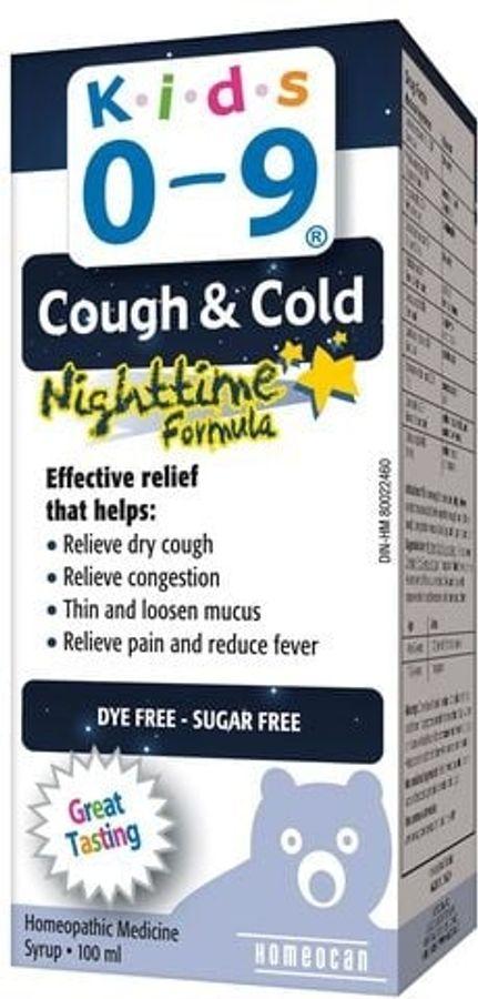 Siro Ho Và Cảm Lạnh Đêm Cough & Cold Nighttime Formula