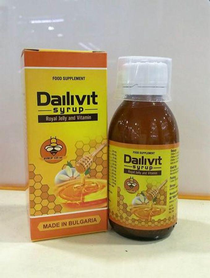 Vitamin Tổng Hợp Dailivit Cho Trẻ Từ 2 Tuổi Của Bungari