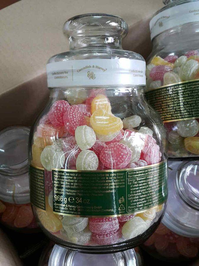 Hũ Kẹo Trái Cây Cavendish & Harvey Fruit Candies Của Đức 966g