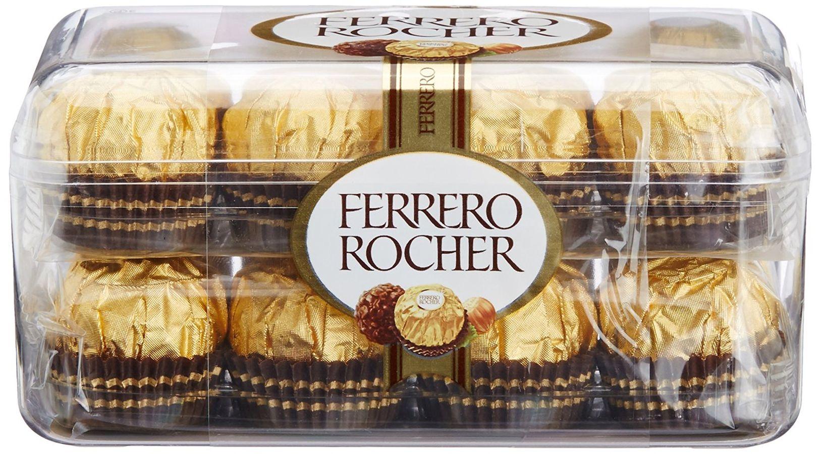 Kẹo Sôcôla Nhân Kem Hạt Dẻ Ferrero Rocher – 16 Viên/hộp 200g