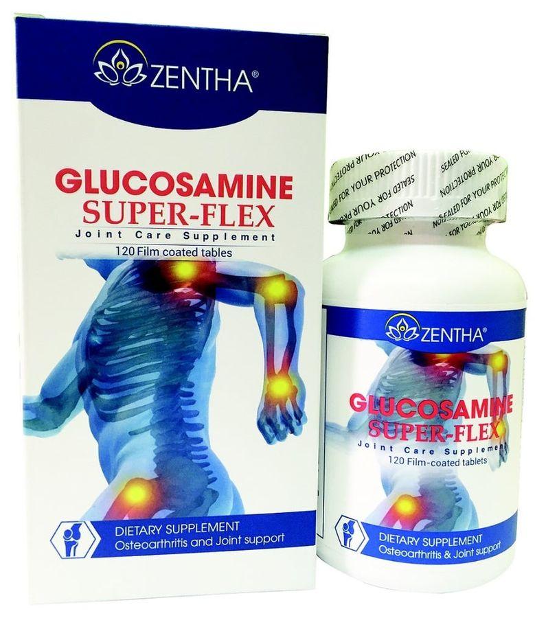Viên Bổ Xương Khớp Zentha Glucosamine Super - Flex