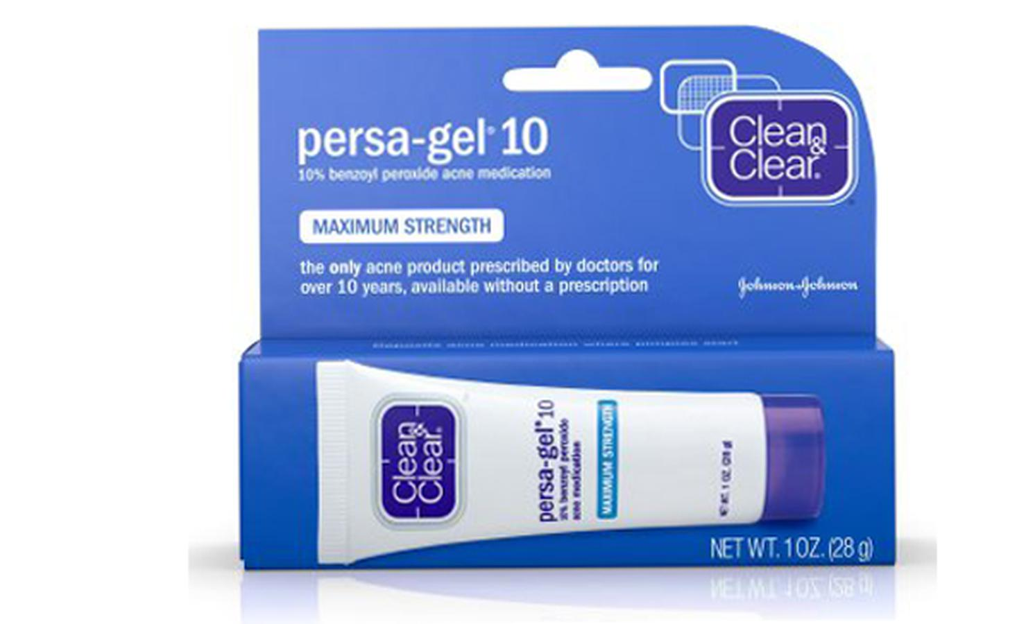 Kem Trị Mụn Clean & Clear Persa Gel 10 Maximum Strength