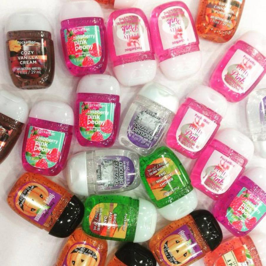 Combo 5 Chai Gel Rửa Tay Khô Bath Body Works 29ml