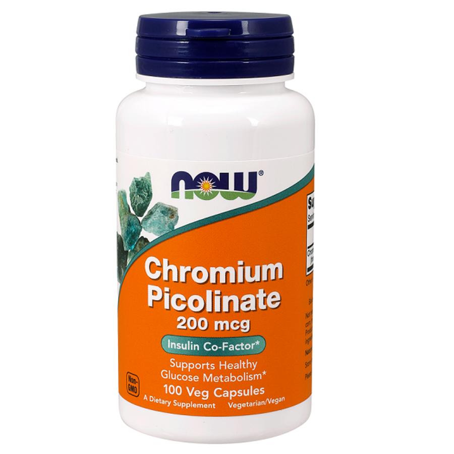 Viên Uống Now Chromium Picolinatehỗ Trợ Bảo Vệ Tim Mạch