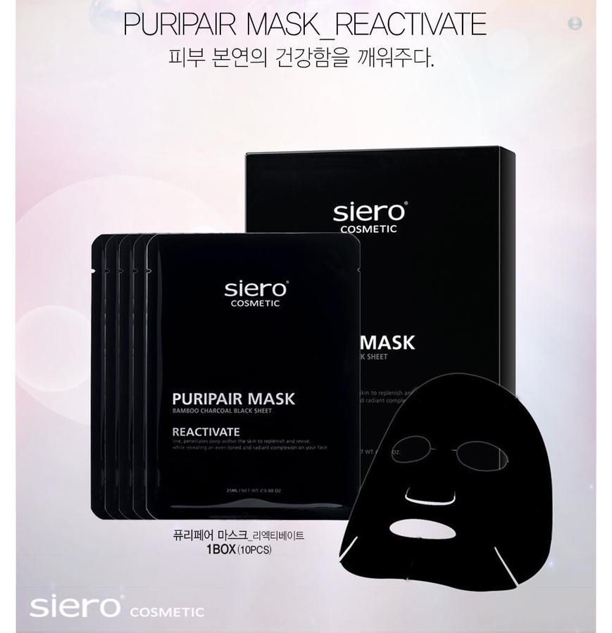 Combo 5 Miếng Mặt Nạ Tái Sinh Siero Puripair Mask Reactivate