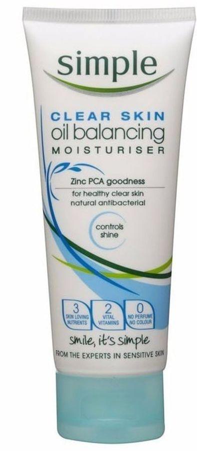 Kem Dưỡng Cho Da Dầu Simple Clear Skin Oil Balancing