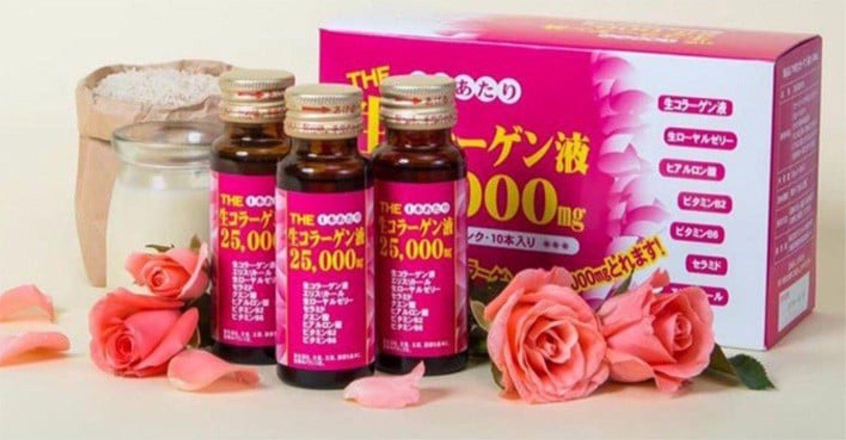 Collagen Inter Techno 25000mg Dạng Nước Uống Của Nhật Bản