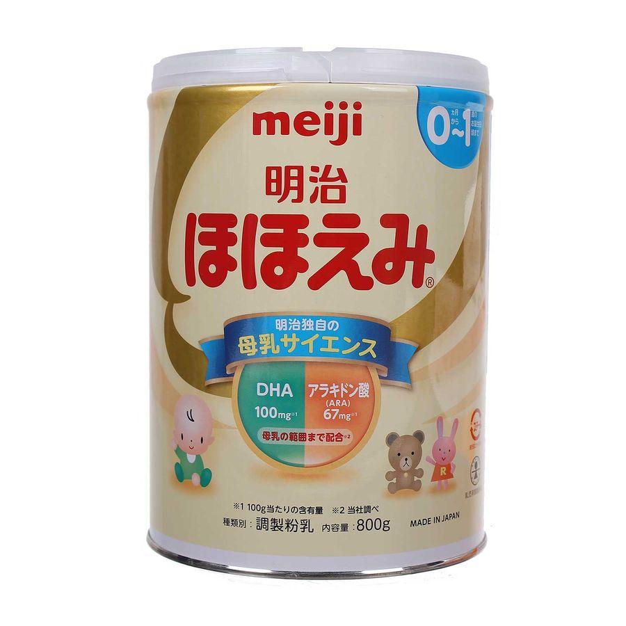 Meiji Số 0-Sữa Bột Dinh Dưỡng Cao Cấp Dành Cho Bé Từ 0-1 Tuổi