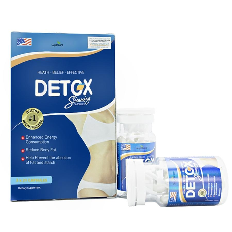 Viên Uống Giảm Cân Detox Slimming Hộp 42 Viên