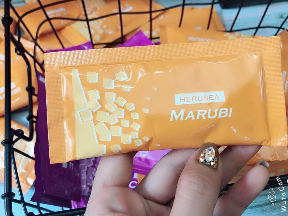 Bột Uống Trắng Da Marubi Collagen Kyuendo Herusea