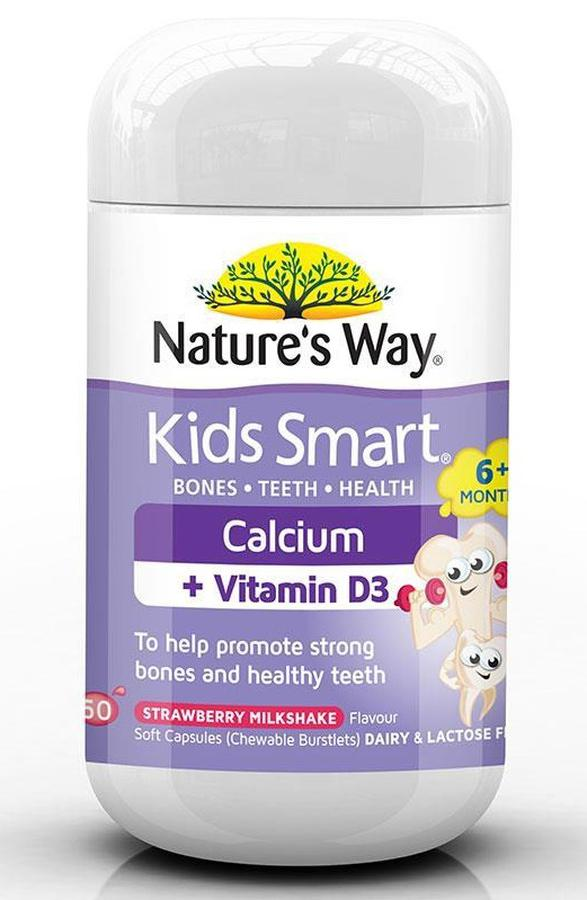 Canxi + Vitamin D3 Cho Trẻ - Kids Smart Nature's Way