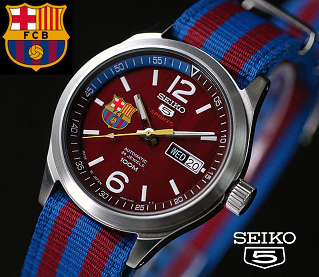 Đồng Hồ Seiko SRP305J1 (Seiko 5 Sports Barcelona)